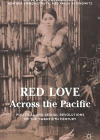 Red Love Across the Pacific -book cover